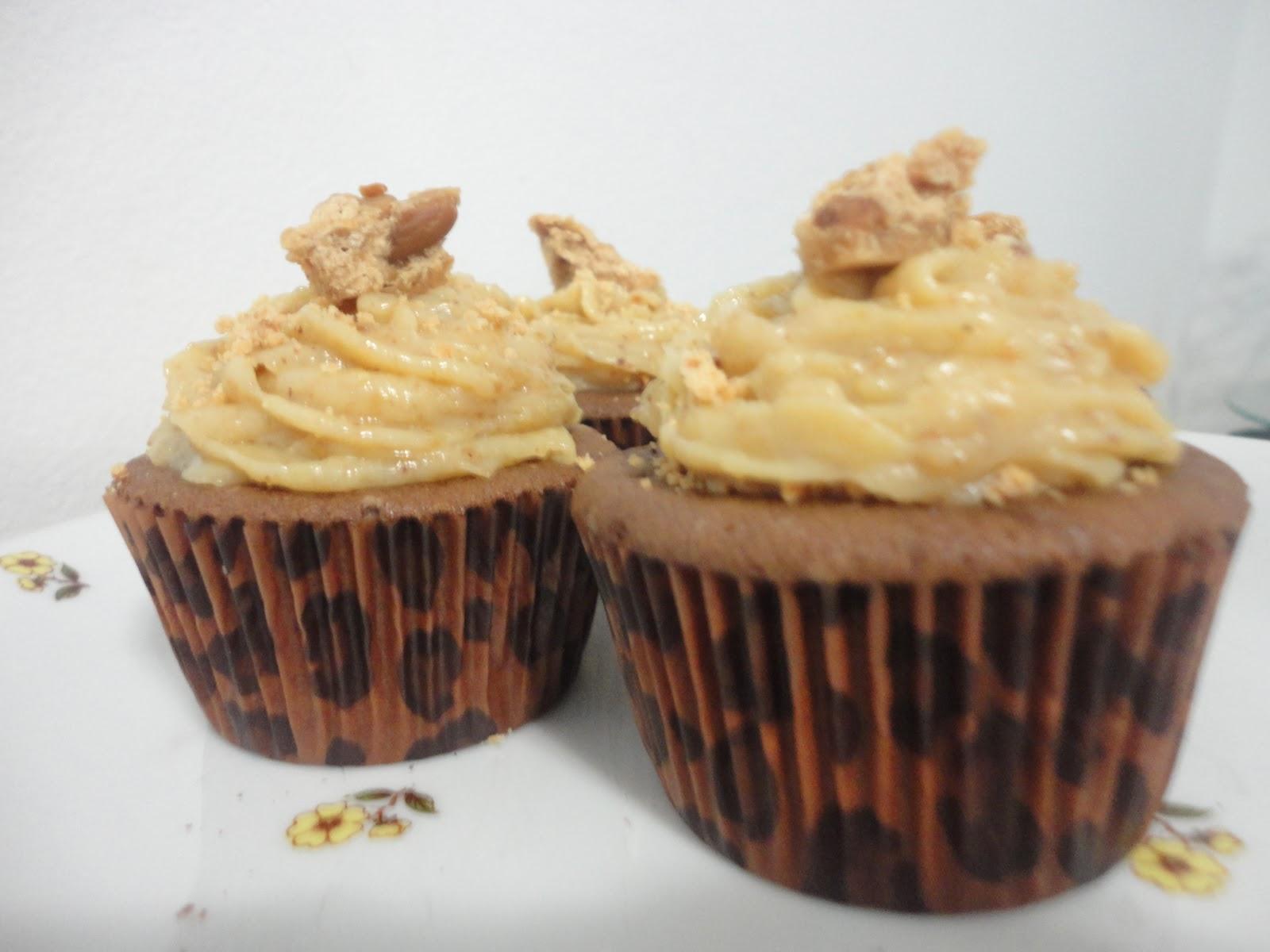 cupcake pé de moleque